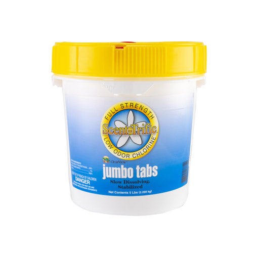 "ClearView 3"" Scent-Trific Jumbo Tabs - 5 Pounds"