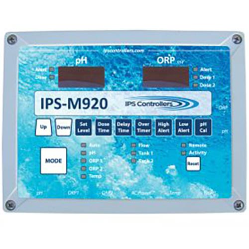 IPS M920 Automated pH and Dual ORP Controller