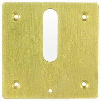 Jandy Minijet Cover Plate MJ6370 - Brass - Sunplay
