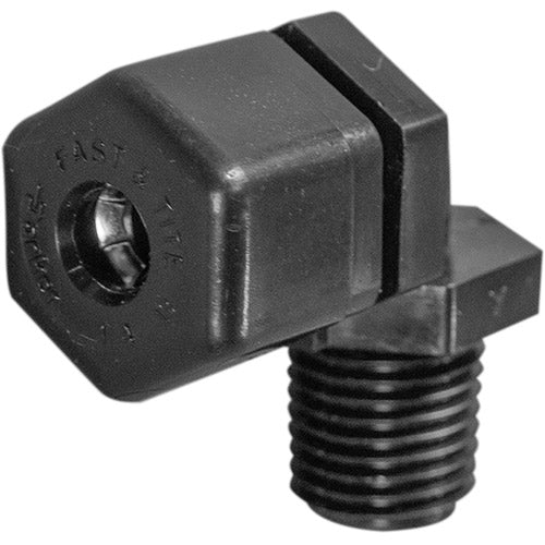 "Parker Elbow Compression Fitting - 1/4"" Thread x 1/4"" Tubing"