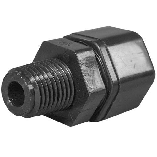 "Parker Compression Fitting - 1/4"" Thread x 3/8"" Tubing"