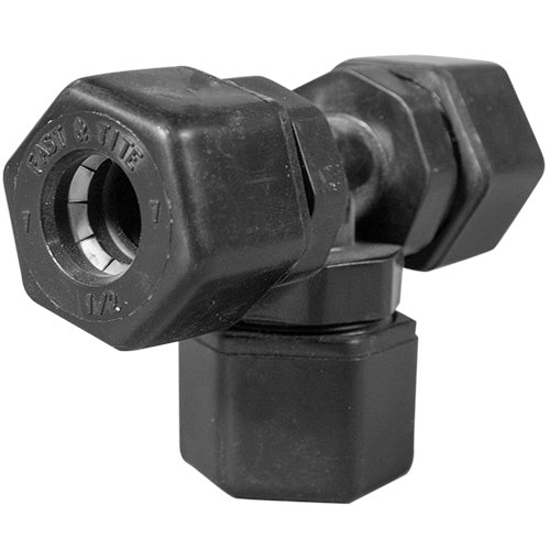 "Parker Tee Compression Fitting - 1/2"" Tubing"