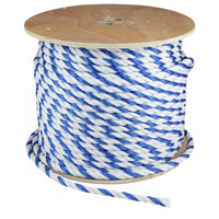 "3/4"" Blue and White Pool Rope - Per Foot - Sunplay"