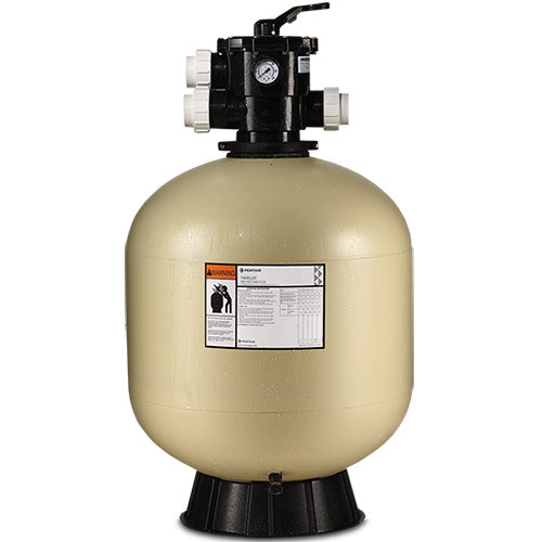 "Pentair Tagelus TA60D with 1-1/2"" Top Mount Valve Sand Filter EC-145241"