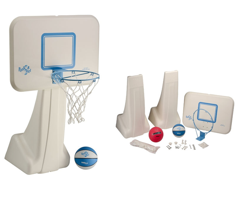 Dunn Rite PoolSport Basketball and Volleyball Combo