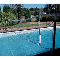 S.R. Smith Swim N' Spike Volleyball Game Set - 20' Net - Sunplay