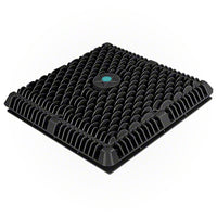 "AquaStar 12"" Wave Suction Outlet Cover - Black - Sunplay"