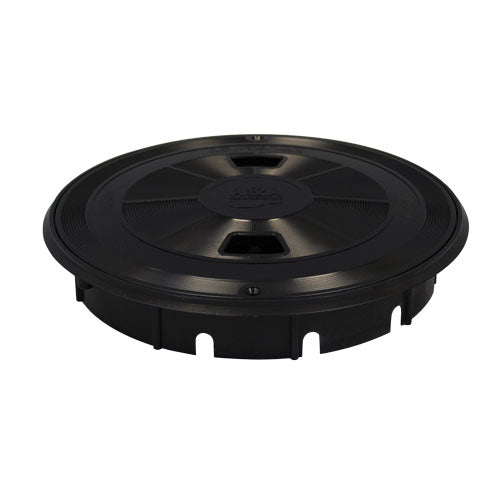 A&A Round QuikSkim Deck Lid & Ring - Black - 550571