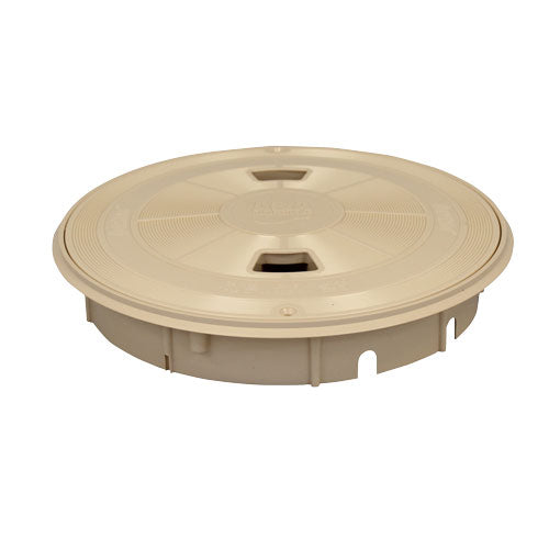A&A Round QuikSkim Deck Lid & Ring - Tan - 518416