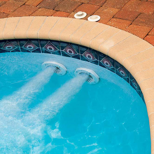 Speck Pumps BaduStream II Swimjet System SS484-2400M-1RW - Dual Jets with  Round Cover