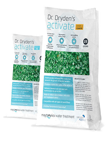 Dr. Dryden's Activate Grade 2 Filter Media - 25 Pounds