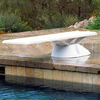 Inter-Fab Edge aquaBoard 8' Diving Board - White EDGE8WW - Sunplay
