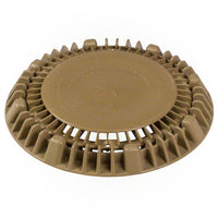 "AquaStar 8"" Round Suction Outlet Cover - Tan - Sunplay"