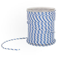 "1/4"" Blue and White Pool Rope - Per Foot - Sunplay"