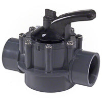 "Hayward 2-Way PVC Diverter Valve 1-1/2"" x 2"" - PSV2SDGR - Sunplay"