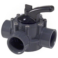 "Hayward 3-Way PVC Diverter Valve 1-1/2"" x 2"" - PSV3SDGR - Sunplay"