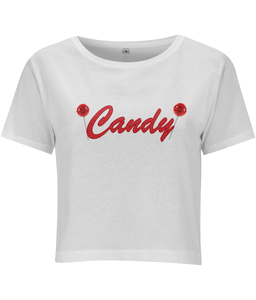 Candy Cropped T-shirt