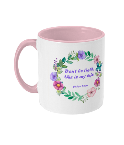 No Judgement Two Toned Mug
