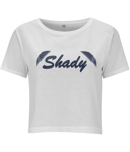 Shady Cropped T-shirt