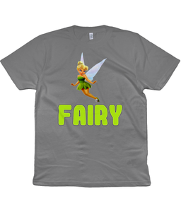 Fairy Unisex T-Shirt in Green Lettering