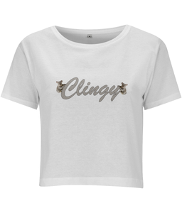 Clingy Cropped T-shirt