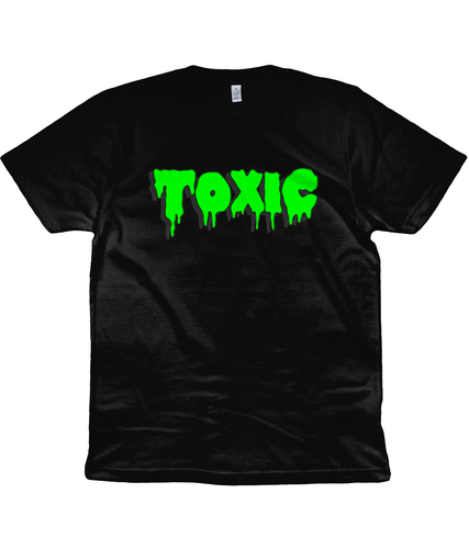 Toxic Unisex T-Shirt in Radioactive Green