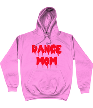 Dance Mom Hoodie in Blood Red Lettering