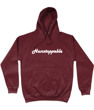 Hunstoppable Hoodie in White Lettering