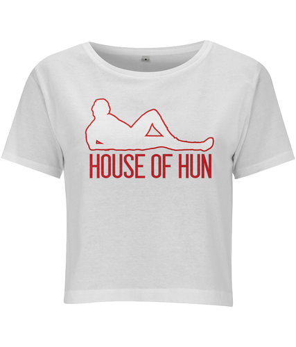 House of Hun Cropped T-shirt