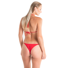 BASIC BIKINI KEI RED TIE UP