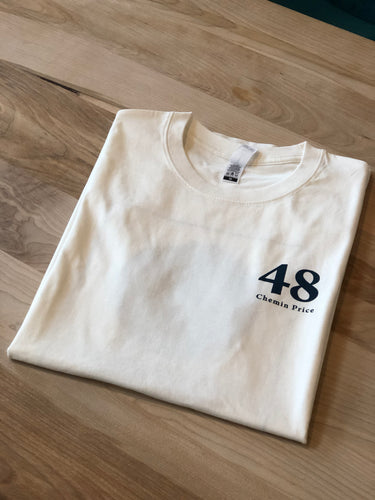 48 Chemin Price / T-SHIRT / Naturel