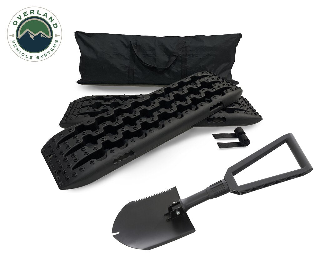 Combo Pack Recovery Ramp & Utility Shovel
