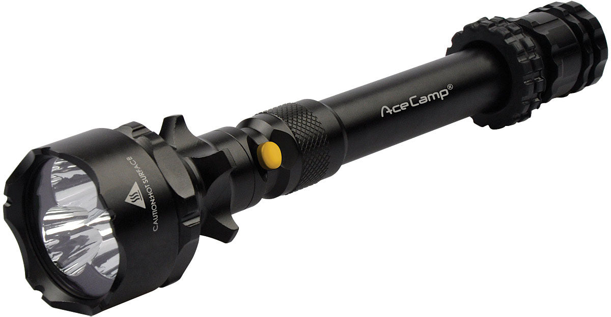 Tactical Led Flashlight W/usb Charger