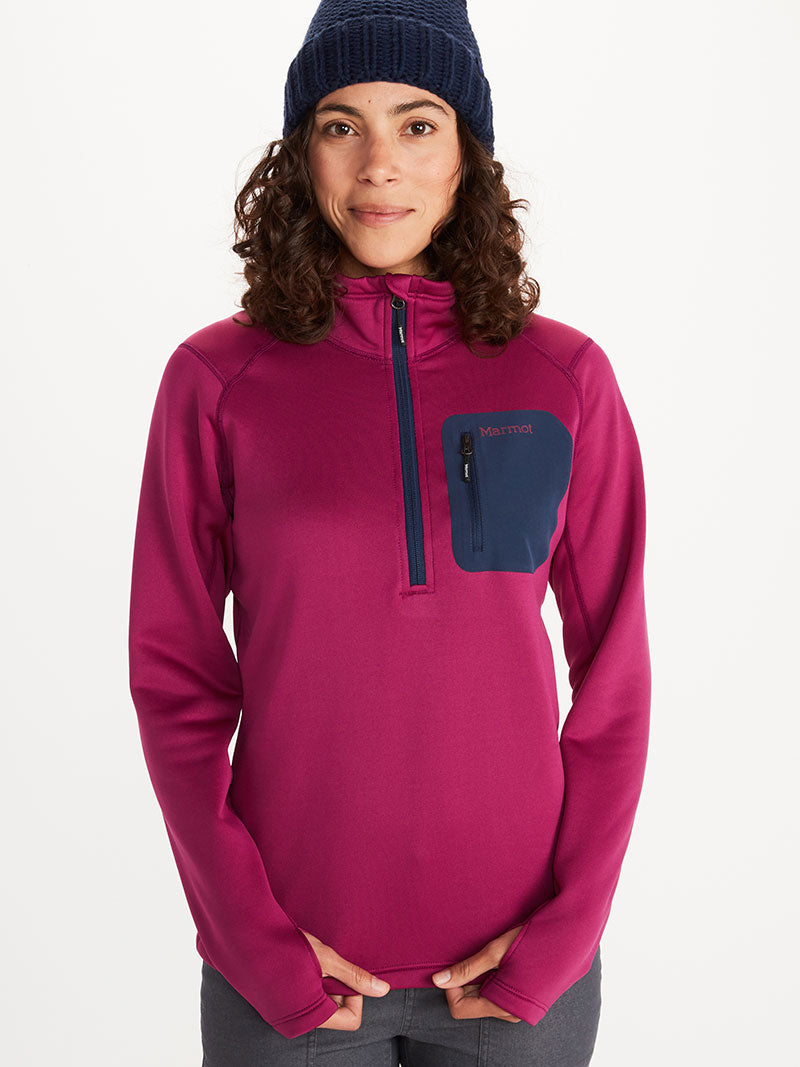 Women's Olden Polartec 1/2 zip