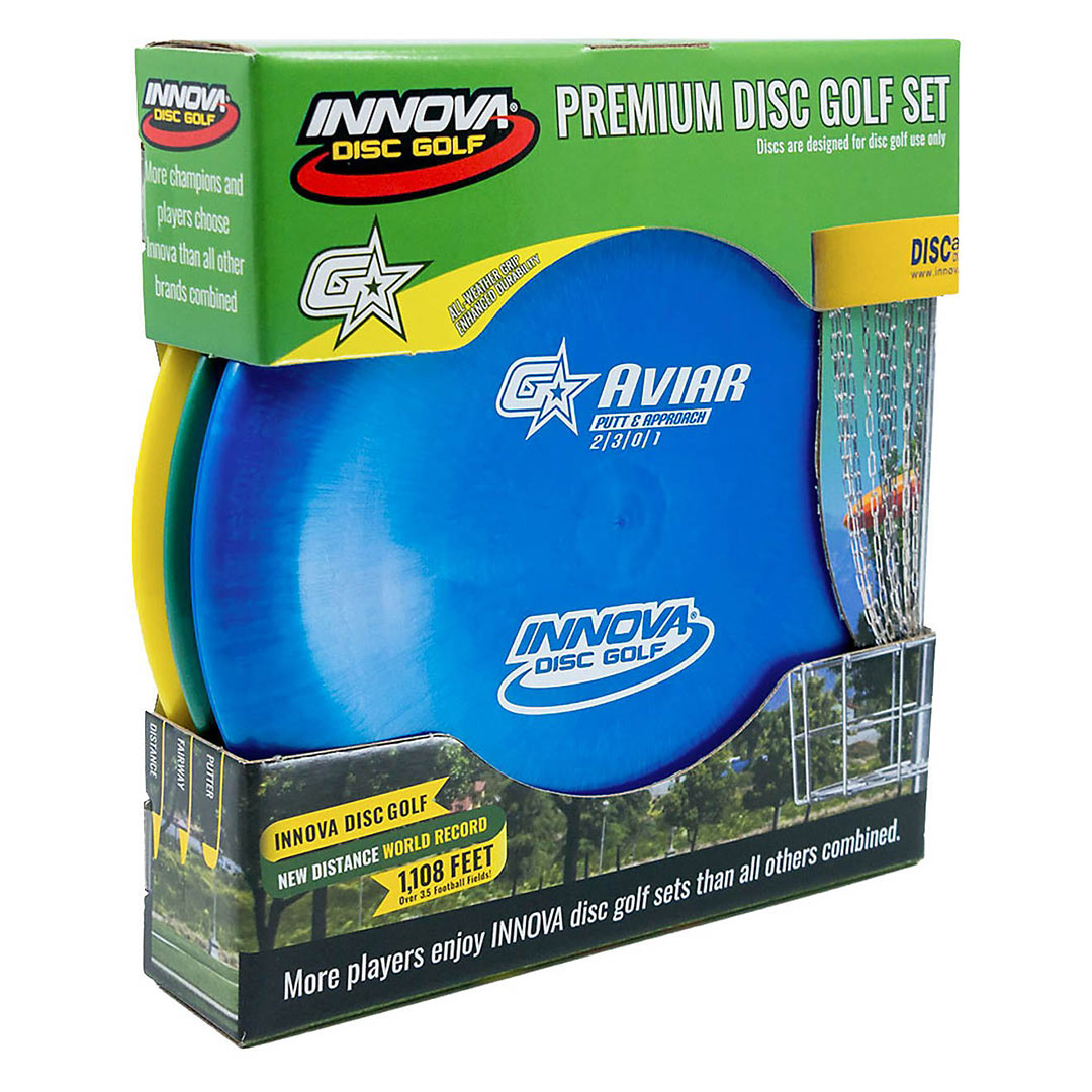 Premium Disc Golf Set
