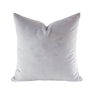 Luxury Mud Collection Light Grey Cushion Cover
