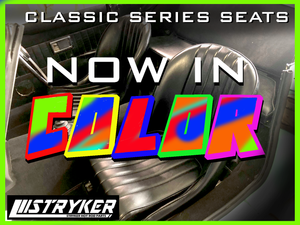 Classic Series seats now in color.