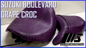 Looking to get a little wild? How about Wild purple Croc ?