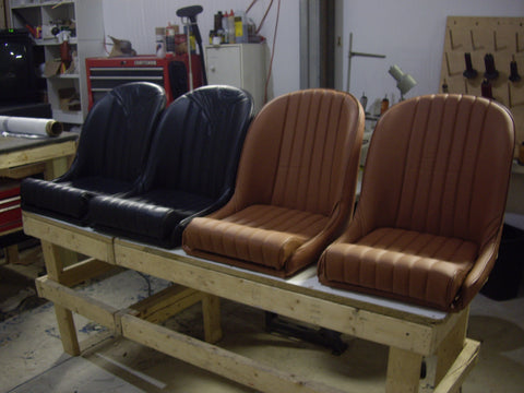 Original SB low back bucket bomber seats