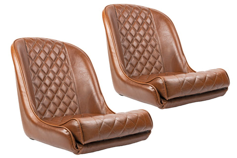 Vintage collection full diamond Toffee Seats