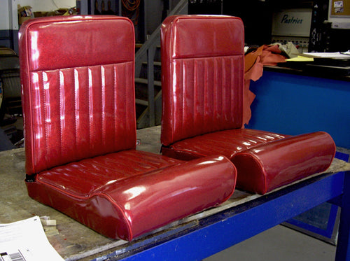 Shitty Seats  Buckets El'Cheapo Wood frames - strykerhotrod