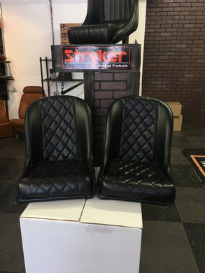 Diamond Stitch Seats - strykerhotrod