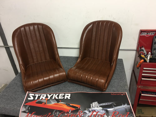 Vintage Collection Low Back Bucket Seats - strykerhotrod