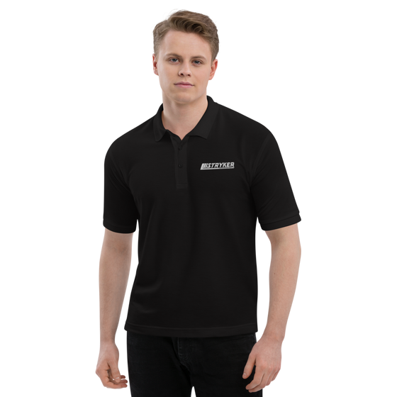 Strykers Men's Premium Polo - strykerhotrod