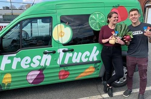 Fresh Truck and Eat Your Coffee