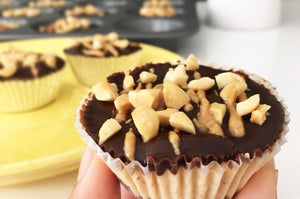 Recipe: Caffeinated Peanut Butter Cups | Eat Your Coffee