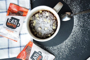 Recipe: Double Peanut Butter Mocha Mug Cake | Eat Your Coffee
