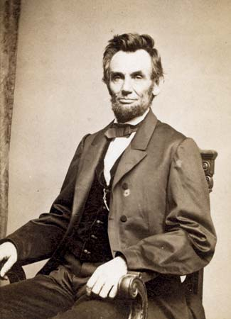 image of abraham lincoln with no hat