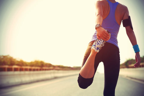stretching for muscle recovery after running - eat your coffee healthy low calorie snacks