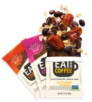 Eat Your Coffee Caffeinated Snack Bars
